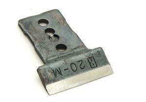 2 blades for RALI shark M 20 mm