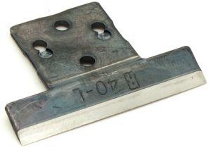 2 blades for RALI shark L 40 mm