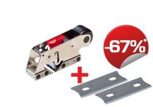 Pack rebate plane G03 + carbide blades